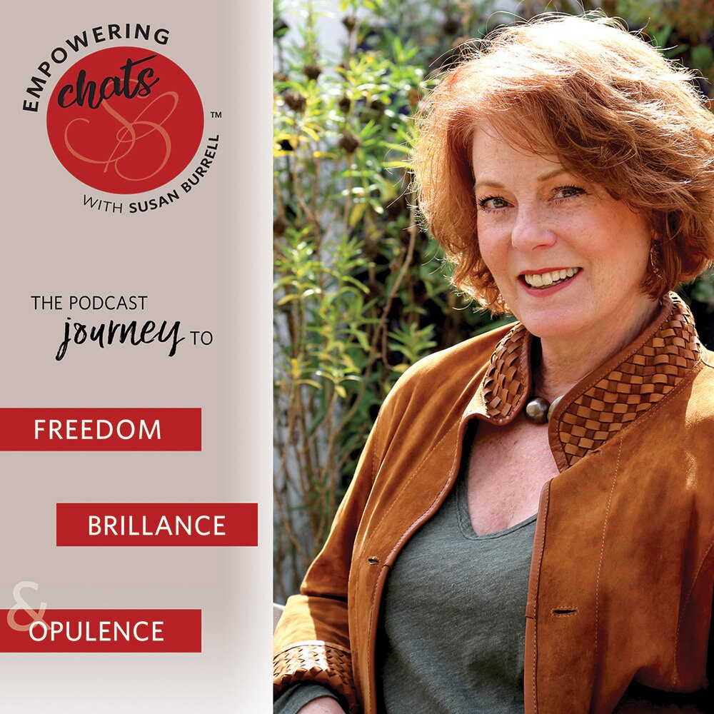 Empowering Chats with Susan Burrell podcast appearance